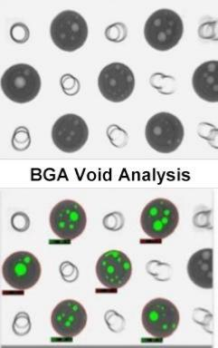 BGA ball void analysis